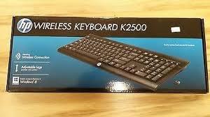 HP Wireless Keyboard K2500 £9 Sainsbury's