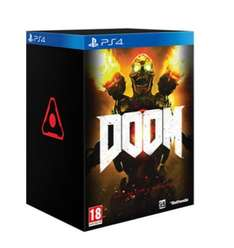 DOOM collectors Edition PS4-back in stock-£39.99  use code IGN10OFF for £35.99 at GAME