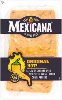Mexicana Original Hot Sliced Cheese (140g) was £1.90 now £1.00 (Rollback Deal)  @ Asda
