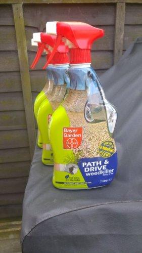 Bayer Garden Path & Drive weedkiller 1 litre £1.00 @ Tesco - Tiptree