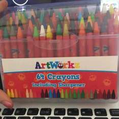 Artworkz Crayons 25p in the works