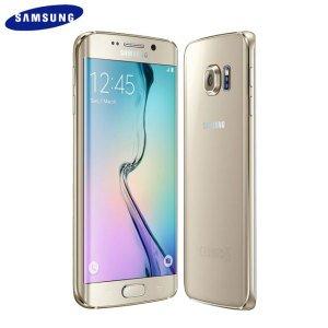 Sim Free Samsung Galaxy S6 Edge 5.1 Inch (refurbished) 32GB 16MP 4G Gold £359.95 Argos via eBay.