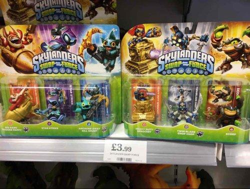 Skylanders - Swap Force Figure Set £3.99 @ Home Bargains