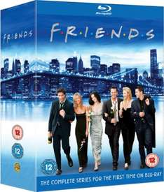 Friends - The Complete Collection Blu-ray £46.99 Delivered @ Zavvi