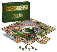 Monopoly: The Legend of Zelda Collector's Edition - £15 (Prime) £19.75 non prime - Sold by YUK and Fulfilled by Amazon.