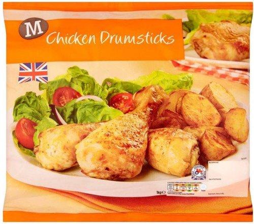 Morrisons British Chicken Drumsticks (1Kg) ONLY £1.80 @ Morrisons