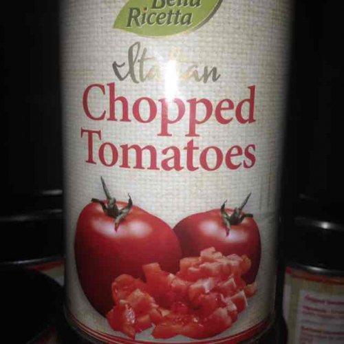 Bella Ricetta Chopped Tomatoes 400g 20p @ Home Bargains