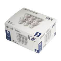 WARM WHITE -> LAP GU10 LED LAMPS 281LM 410CD 4W 6 PACK SCREWFIX £4.99 - free c&c
