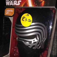 Star Wars light £4.50 from Robert dyas