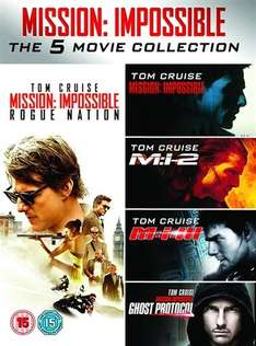 Mission Impossible 1-5 DVD box set preowned £5 @ CeX
