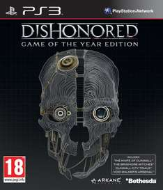 Dishonored GOTY PS3 (New) £3.99 @ GAME