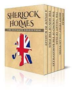 "Kindle Box Set ""Sherlock Holmes: The Ultimate Collection"" (Illustrated) £0 @ Amazon"