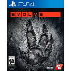 Evolve (PS4 and XBONE) £7 delivered from Tesco
