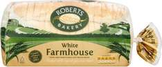 Roberts Bakery Thick Sliced White Farmhouse Loaf (800g) was £1.60 now 80p @ Ocado