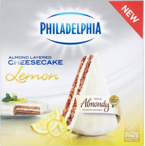 Almondy Philadelphia Cheesecake (Gluten Free) (410g) (Frozen) was £2.99 now 2 for £4.00 @ Ocado