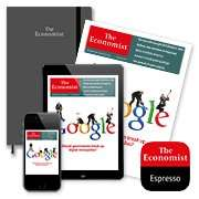 The Economist: £12 Only £1 per week (12 Weeks) plus free Moleskine (£7 with cashback)
