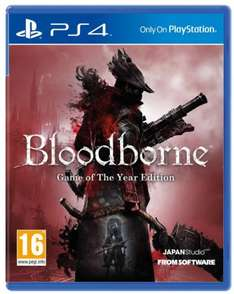 Bloodborne - Game Of The Year Edition - Argos £16.99 (Coming back in stock)