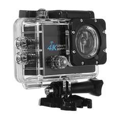 Q3H-2 Sports Action Camera 4K 30fps 1080P HD Wifi 2.0 inch Screen 170 Wide Angle £38.43 @ Banggood