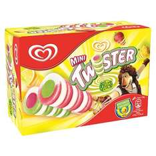 Twister Ice Cream Lollies 8 Packs, Mars/Oreos/Snickers 6 Packs, Solero 3 Packs £1.50 at Tesco