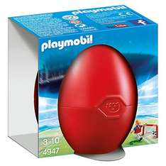 Playmobil Gift Egg Soccer Player with Goal now £3.00 @ John Lewis £2.00 c&c or free if spending £30