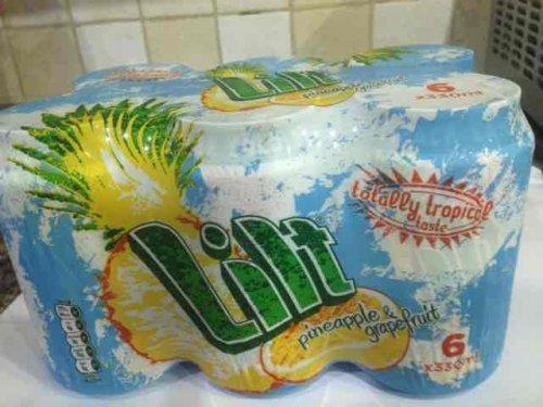 6 cans lilt £1 @heron
