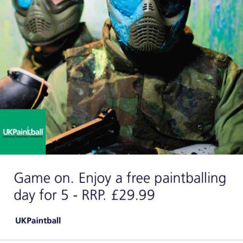 Free Paintballing @ UK Painball via O2 Priority