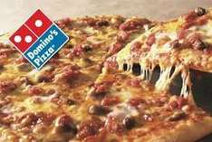 Choose any 2 topping medium pizza to collect in Dominos store for only £5.99