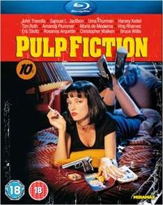 Pulp Fiction (Blu Ray) £4.78 Delivered (Using Code) @ Music Magpie (£3.54 Used)