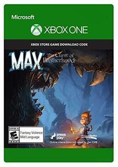 Max: The Curse of Brotherhood - Xbox One Digital Code - £0.99 - CDKeys