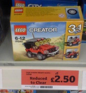 Lego 31040 £2.50 @  Sainsbury- Waltham Cross