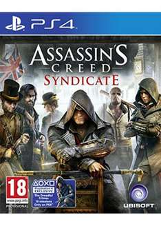 [PS4] Assassin's Creed Syndicate - £12.85 - Base