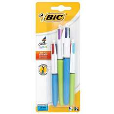 """Bic 4 Colour' Extra value """"2 PLUS 2 FREE"""" Pack £2.25 each + in 3 for 2 offer + Free Delivery @ Tesco Ebay Outlet"""