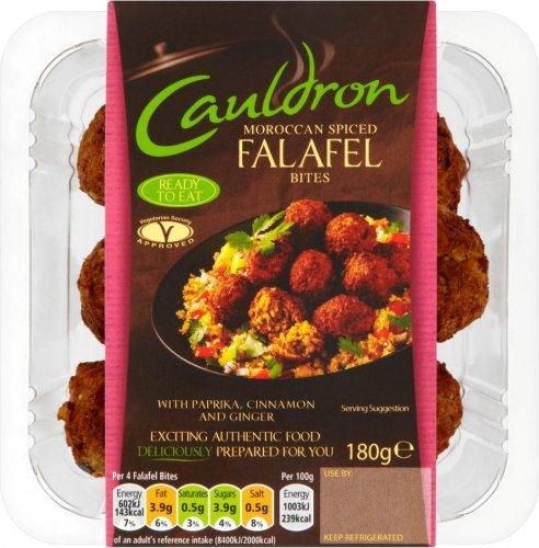 Cauldron Falafel (200g) / Cauldron Moroccan Falafel Bites (180g) was £2.20 now any 2 for £2.50 @ Ocado