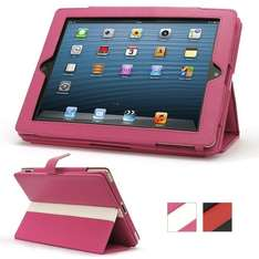 Apple iPad 4 Pink Leather Case £1.75  Delivered - Dispatched from and sold by TechDecor UK (Amazon)
