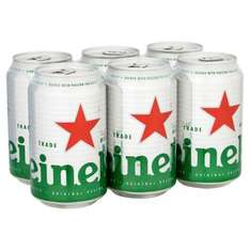 Heineken 6x330ml can £3.75 Asda instore