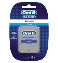 Oral-B Pro-Expert Premium Dental Floss, 40m £1.60 from Amazon - Add on item (£1.52 on S&S)