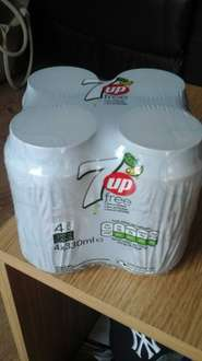 7up Free,  4 pack 330ml for £0.39p at Heron Foods