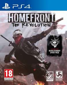 Homefront: The Revolution - £17.94 delivered for Prime @ Amazon. (£1.99 delivery non-Prime)