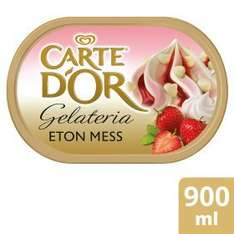 Get Carte D'or Eton Mess Icecream at the reduced price of £2 collected in store @ Asda.com