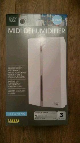 Aldi midi Dehumidifier with 3 years warranty - £19.99