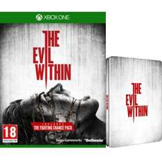The Evil Within Limited Steelbook Edition (Includes Extra DLC) Xbox One @ Zavvi for £16.99