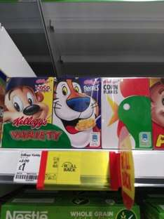Kelloggs Cereals Variety Pack was £2.09 now £1.00 (Rollback Deal) @ Asda