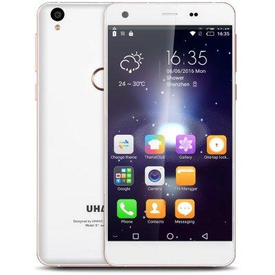 Uhans S1 4G Smartphone - Android 6.0 MTK6753 64bit Octa Core 1.3GHz 3GB RAM 32GB ROM 5MP + 13MP Cameras 5.0 inch On-cell Screen Fingerprint Sensor Bluetooth 4.0 £109.27 Gearbest