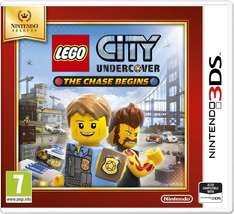[Nintendo 3DS] LEGO City Undercover The Chase Begins | £11.99 | Base
