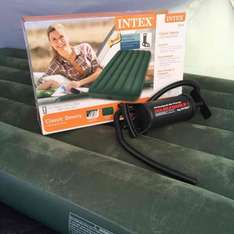 Intex Classic Downey Twin Airbed with hand pump £6 Asda Breck Road Liverpool