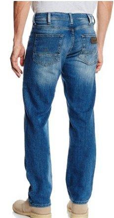 Wrangler Men's Arizona Jeans Blue (Midblue Flax) £22.50 @ Amazon