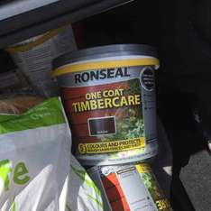 ronseal fence paint £2.50 asda