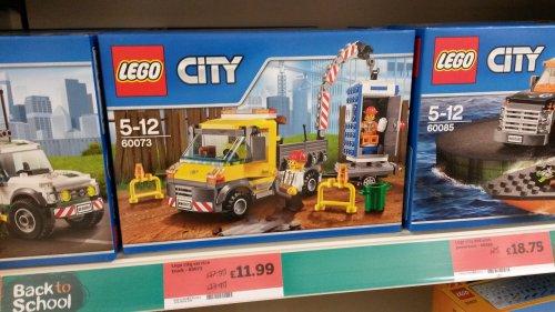 Lego City service truck 60073 £11.99 In store @ Sainsbury's Swindon