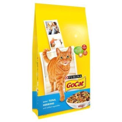 Go-Cat Dry Tuna & Herring 10kg £2.14 (S&S) @ Amazon