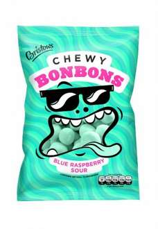 Bristows Blue Raspberry Chewy Bonbons 170 g (Pack of 12) - Amazon Add on £3.24